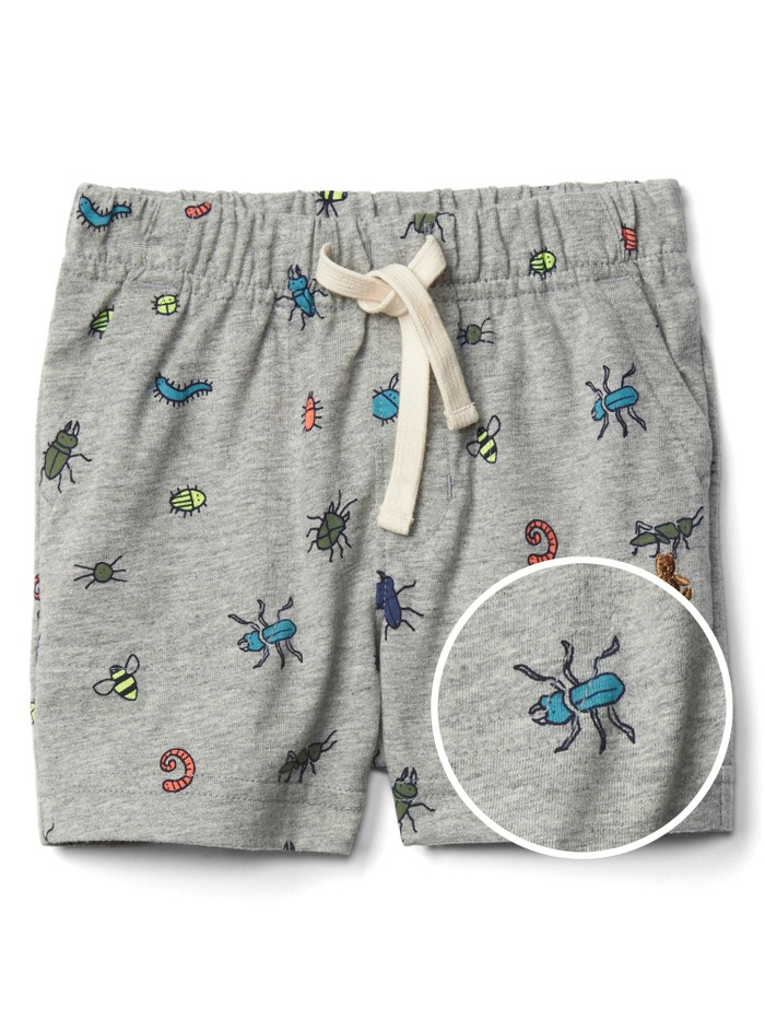 Buggy pull-on shorts
