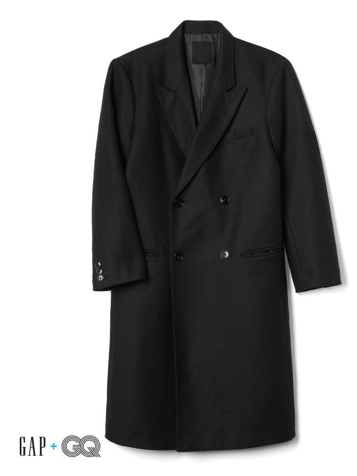 Gap + GQ Ami double breasted coat