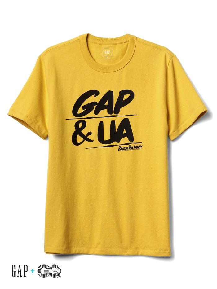 Gap + GQ UA graphic tee