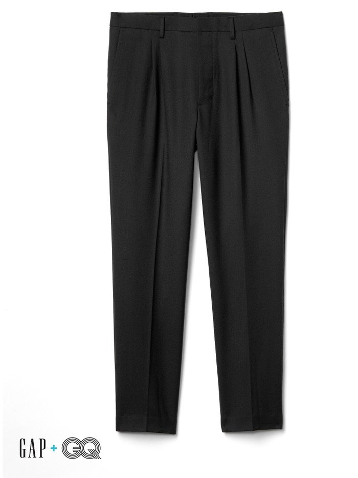 Gap + GQ Ami pleated suit trousers