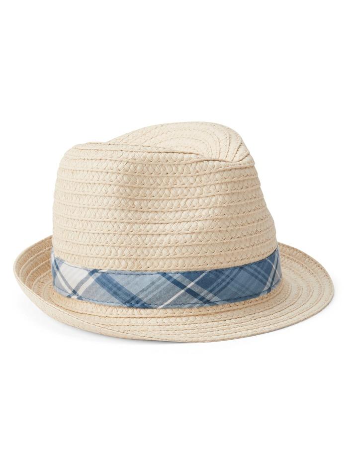 Plaid Cappello Di Panama