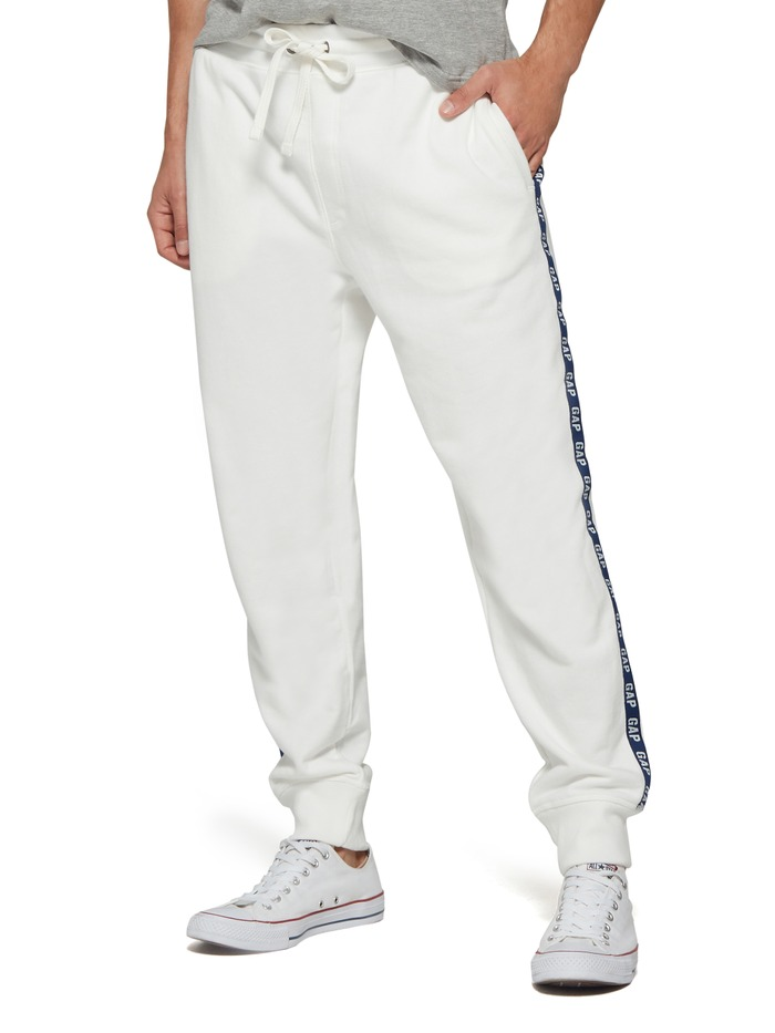 Logo Side Stripe Track Pants