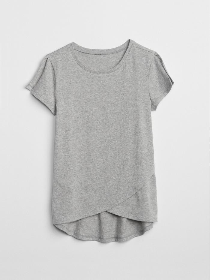 Tulip-Hem T-Shirt
