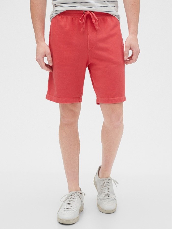 "9"" Jogger Shorts in French Terry"