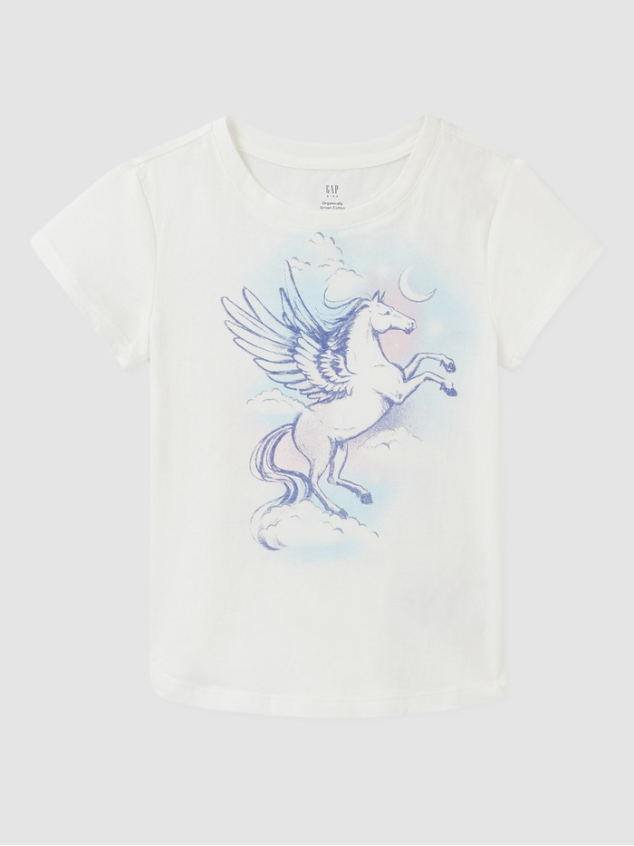 Kids Organic Cotton Graphic T-Shirt
