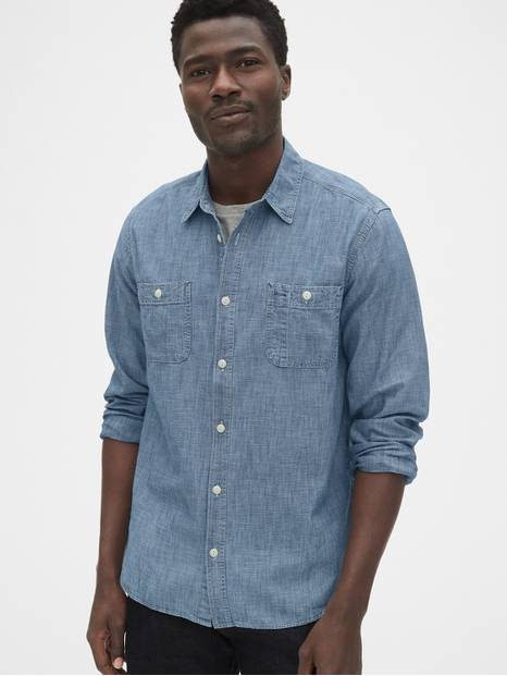 Icon Chambray Worker Shirt