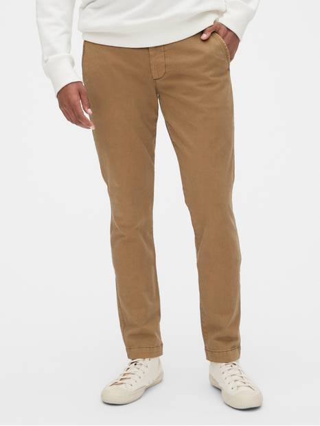 Vintage Khakis in Skinny Fit with GapFlex