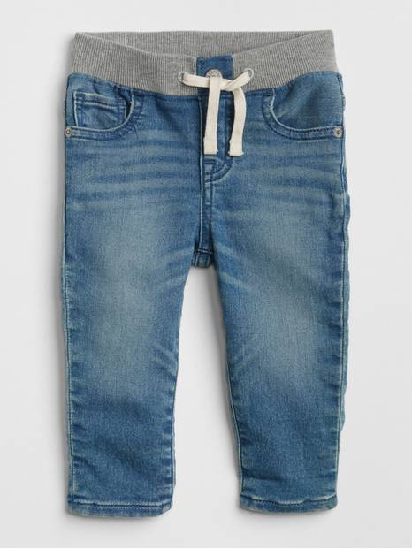 Baby Pull-On Slim Jeans