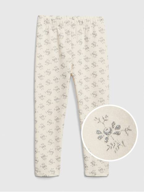 Toddler Print Leggings In Soft Terry