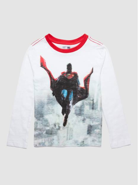 Superman Graphic Long Sleeve T-Shirt