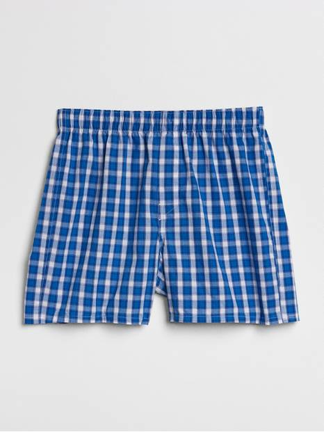 "4.5"" Box Plaid Boxers"