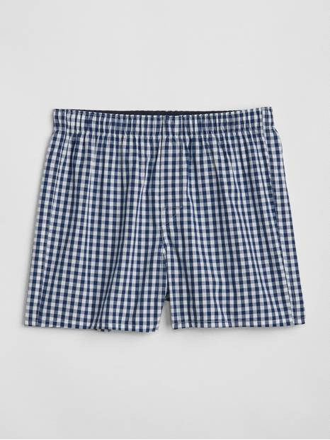 "4.5"" Gingham Boxers"