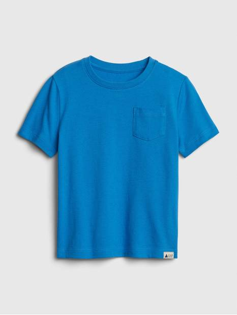 Toddler Pocket Short Sleeve T-Shirt