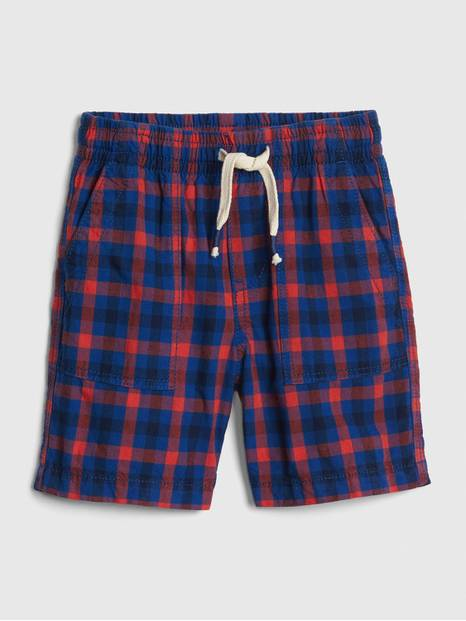 Toddler Print Pull-On Shorts In Twill