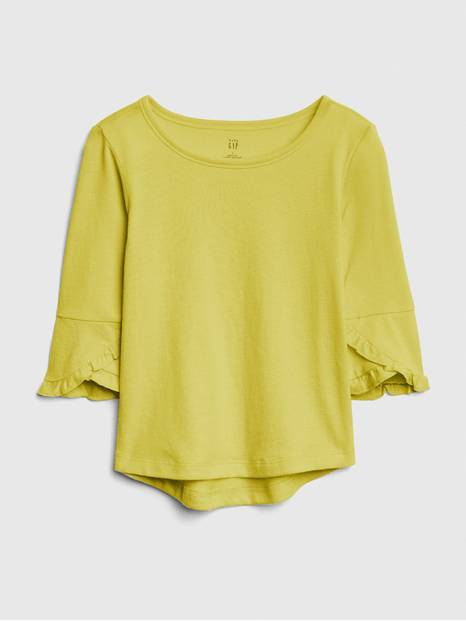 Toddler Ruffle-Sleeve Top