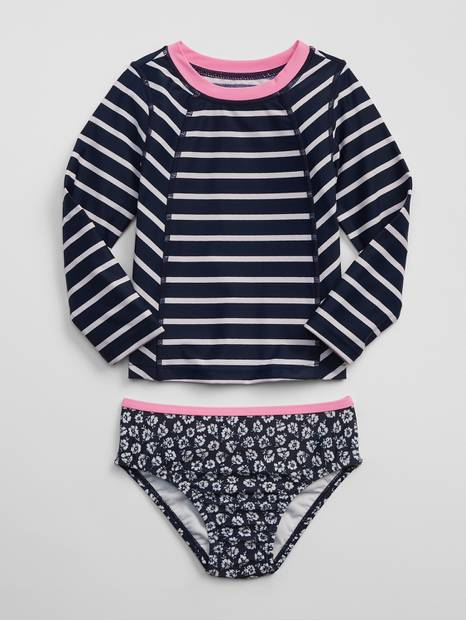 Toddler Rashguard Swim Two-Piece