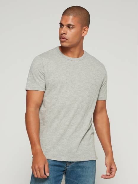 Lived-In Short Sleeve Crewneck T-Shirt
