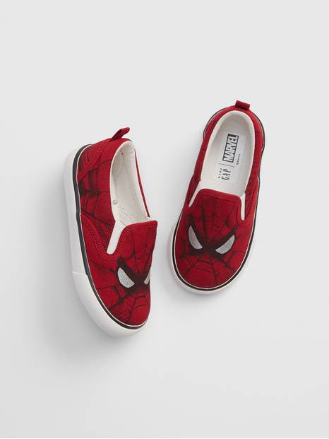 babyGap &#124 Marvel Slip-On Sneakers