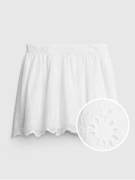 Kids Eyelet Flippy Skirt