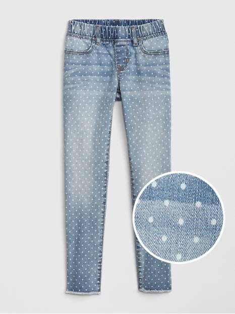 Kids Dot Jeggings with Fantastiflex