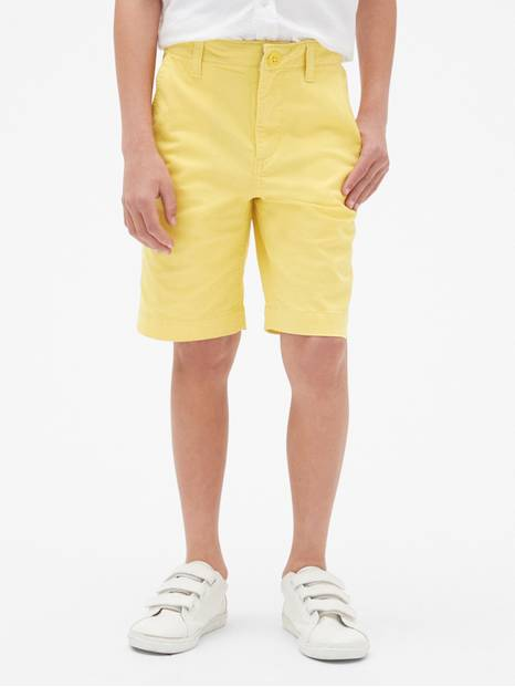 Kids Everyday Shorts In Twill
