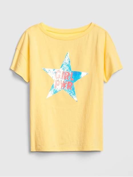 Kids Flippy Sequin T-Shirt