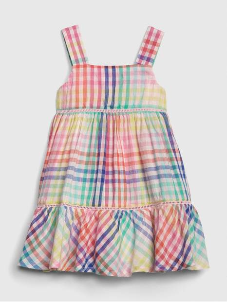 Baby Plaid Tank Dress