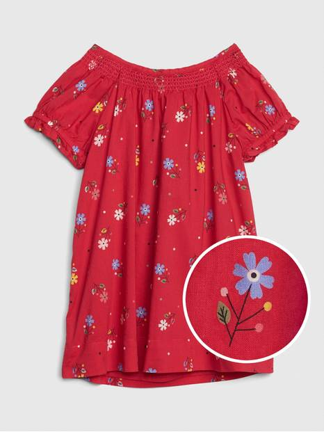 Baby Floral Smocked Dress