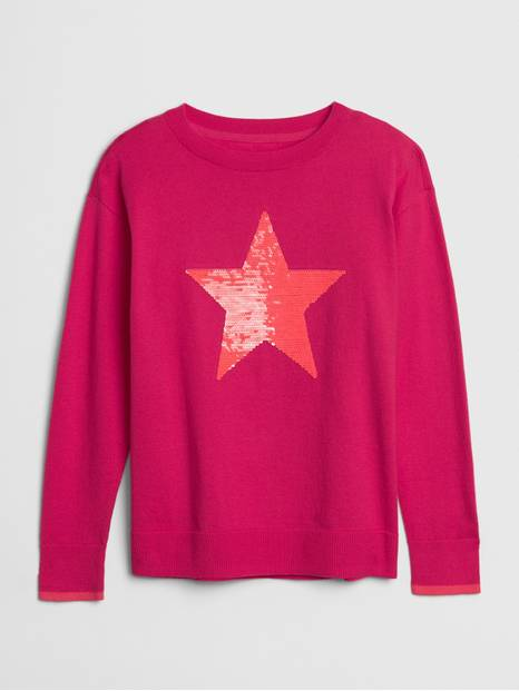 Kids Flippy Sequin Sweater