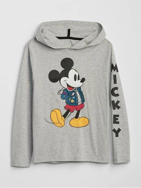 GapKids &#124 Disney Mickey Mouse Hoodie T-Shirt