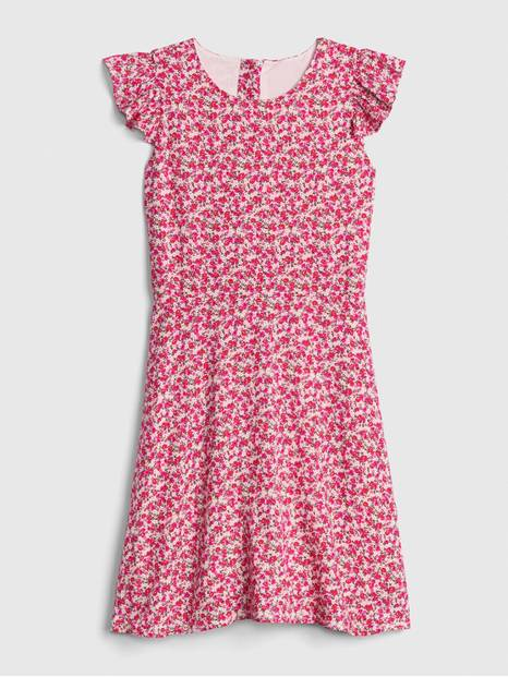 Kids Ruffle Fit and Flare Dress