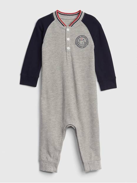 Baby Brannan Bear Henley One-Piece