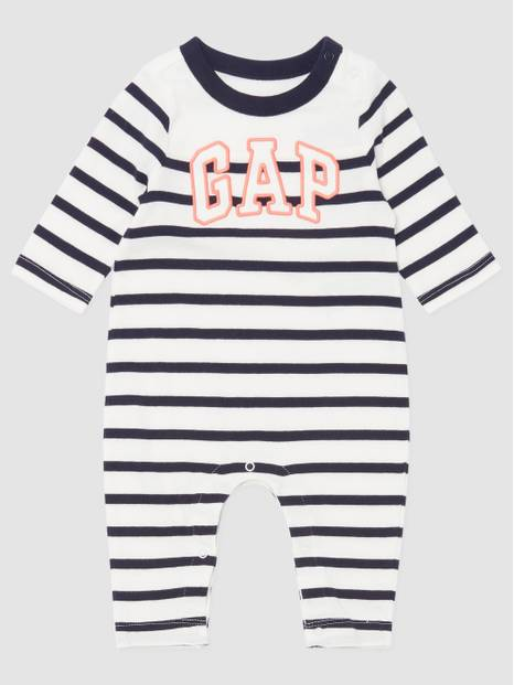 Baby Logo Stripe Short All