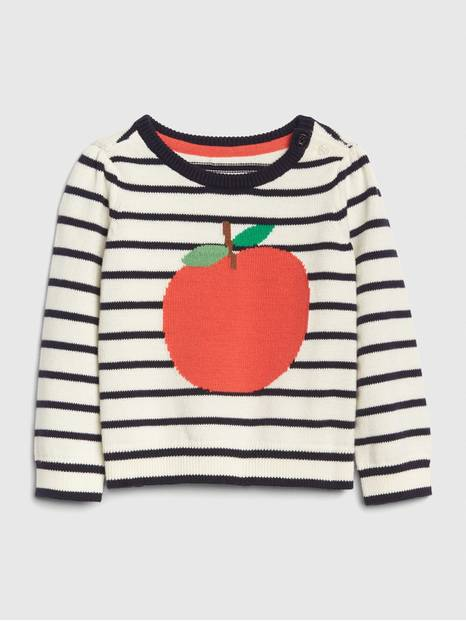 Baby Apple Sweater