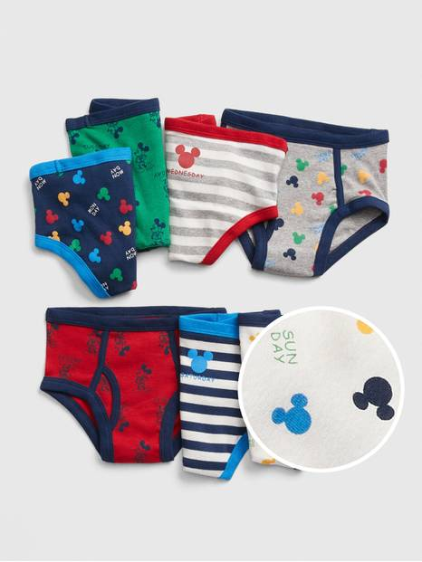 Toddler &#124 Disney Mickey Mouse Briefs (7-Pack)