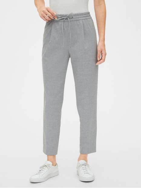 Drawstring Pants in Bi-Stretch