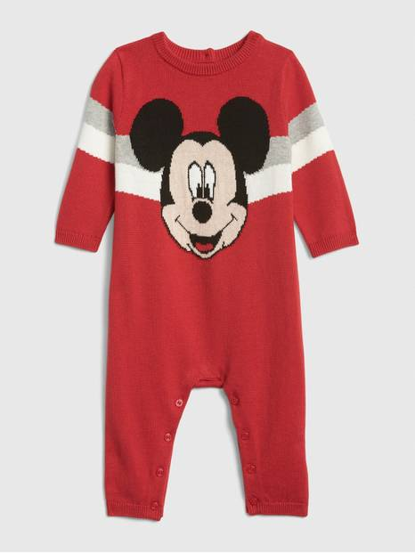 babyGap &#124 Disney Mickey Mouse Sweater One-Piece