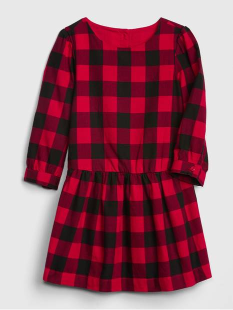 Toddler Buffalo Plaid Dress