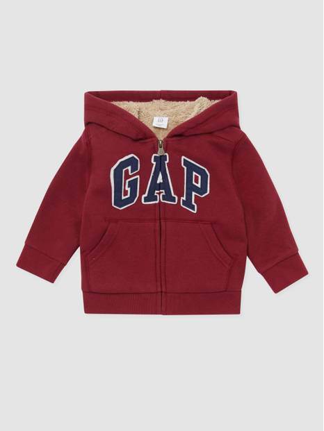 Toddler Gap Logo Cozy Hooded Sweatshirt