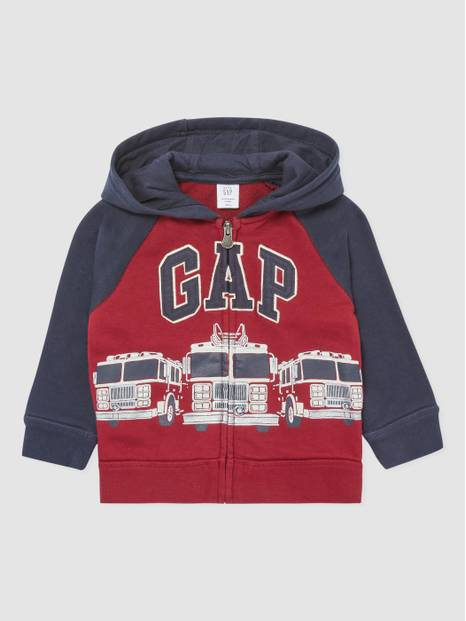 ToddlerGap Novelty Arch Logo Full-Zip Hoodie