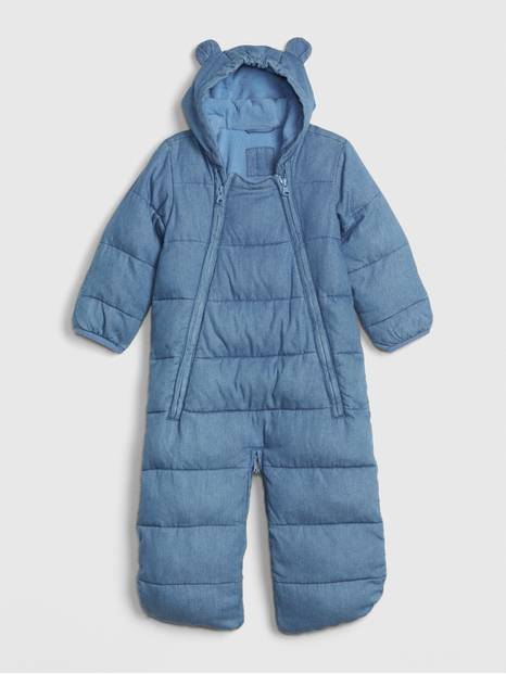 Baby ColdControl Max Chambray Bundler