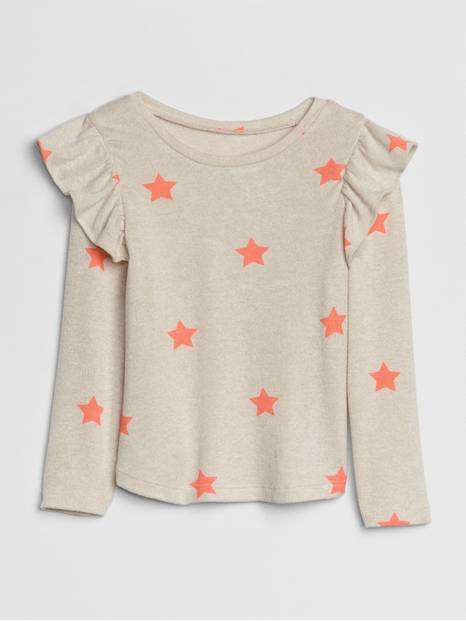 Toddler Softspun Ruffle Top