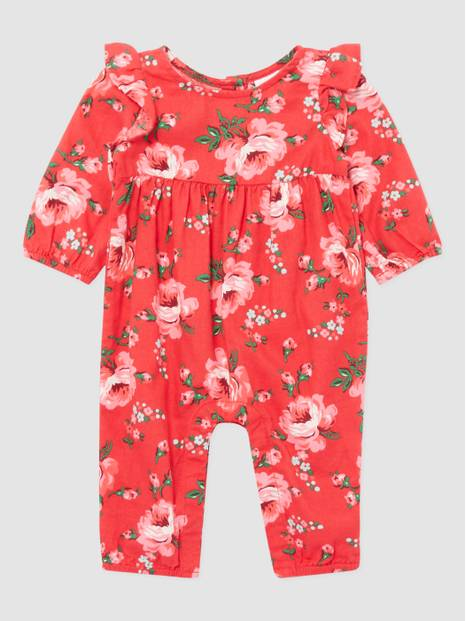 BabyGap Woven Floral 1-Piece