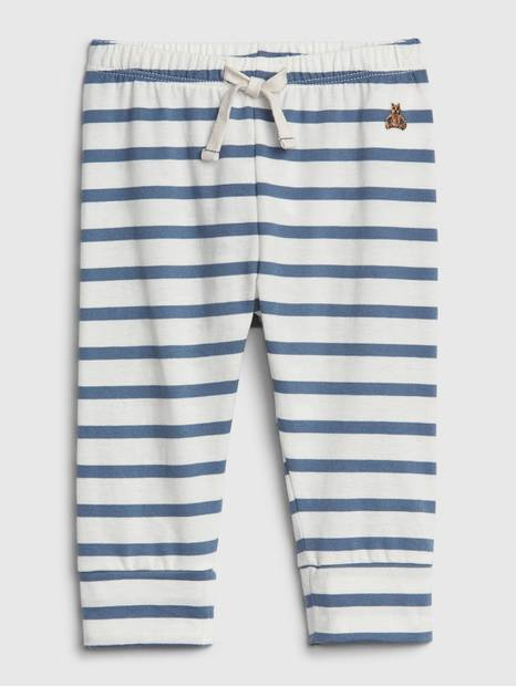 Baby Brannan Bear Stripe Pull-On Pants