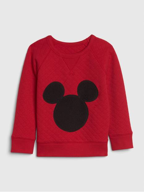 babyGap &#124 Disney Mickey Mouse Quilted Sweatshirt