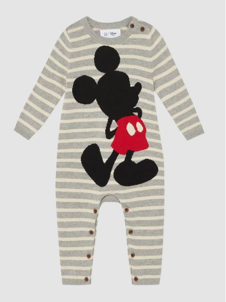 Baby Gap Disney Mickey Mouse Sweater One-Piece