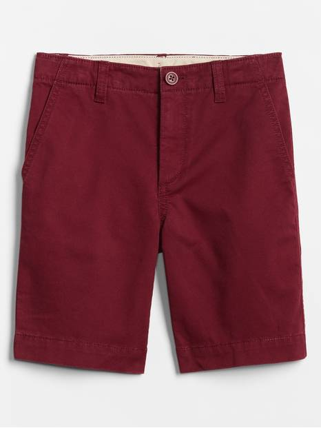 Kids Flat Front Shorts