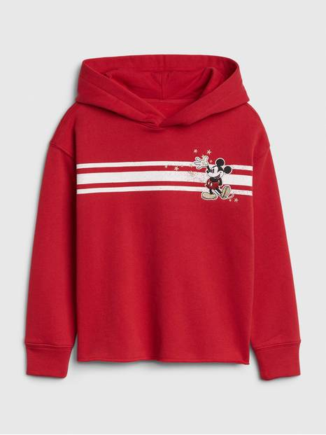 GapKids &#124 Disney Minnie Mouse Crop Sweatshirt