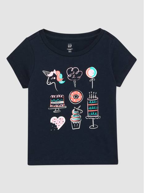 Toddler Gap Crewneck Graphic T-Shirt