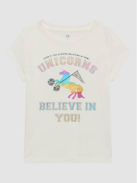 Kids Gap Graphic Printed T-Shirt